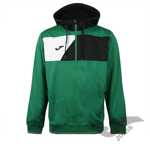 100615.451 JACKET CREW HOODED GREEN